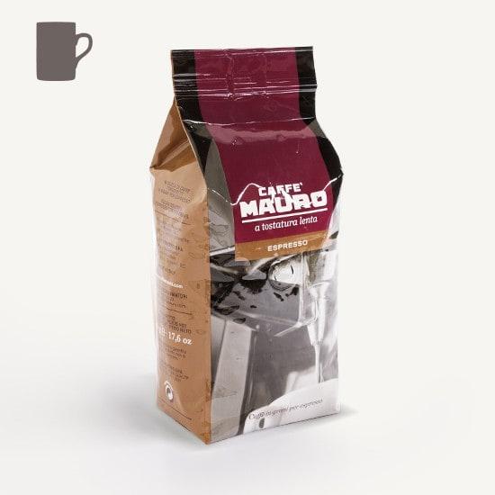 CAFFÈ MAURO Espresso 10x 500 g Bohnen im Beutel
