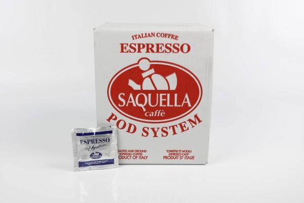 SAQUELLA Regular 1x 150 ESE-Pads je 6,67 g gemahlen