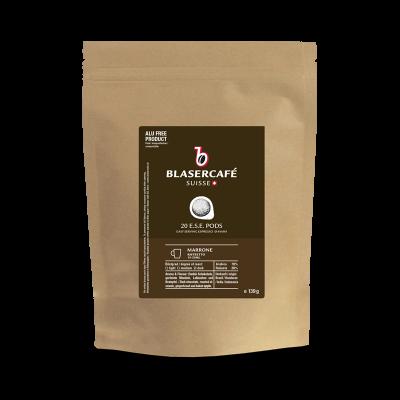Blasercafé Marrone 6x 20 ESE-Pads je 6,95 g gemahlen