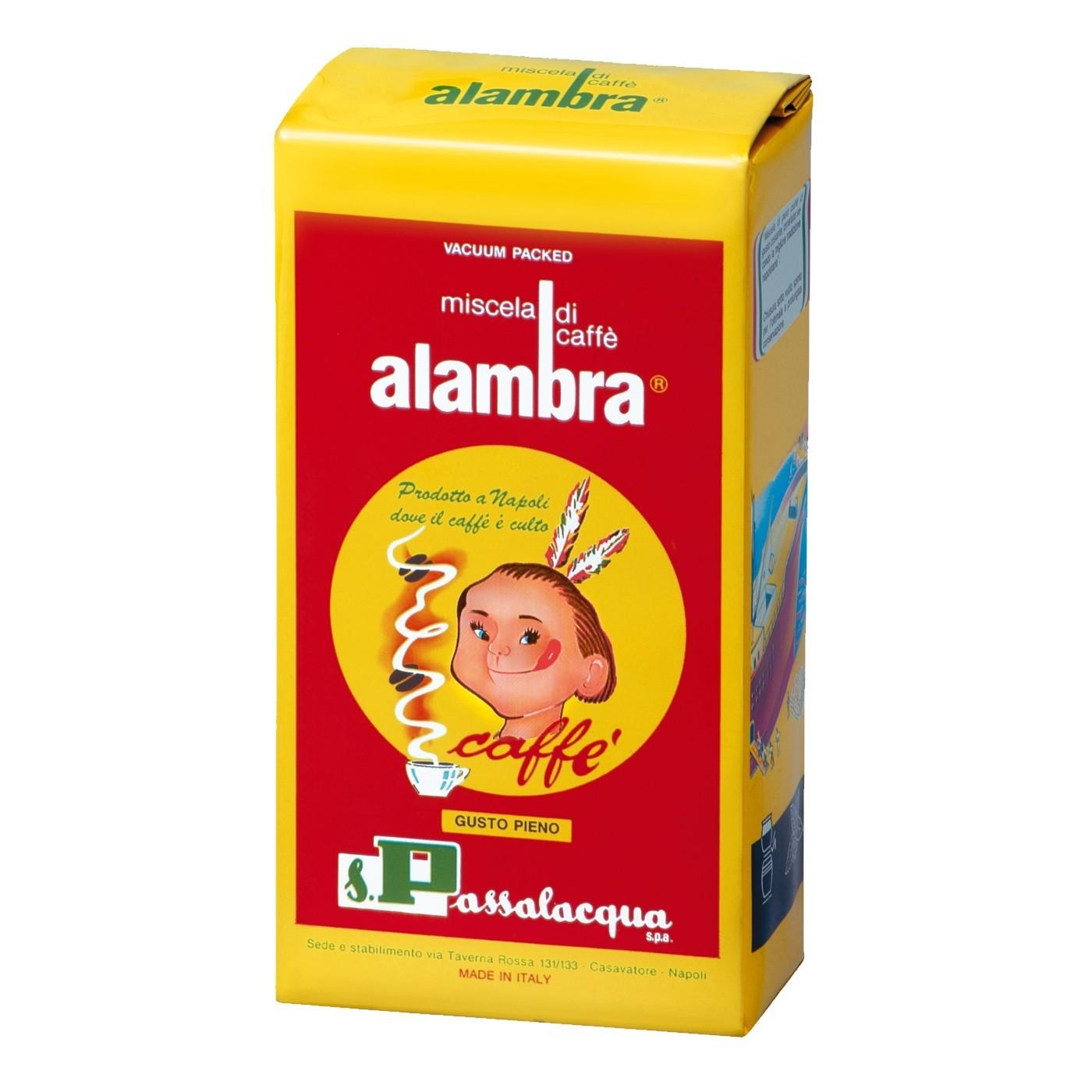 PASSALACQUA Alambra 24x 250 g gemahlen und vakuumiert