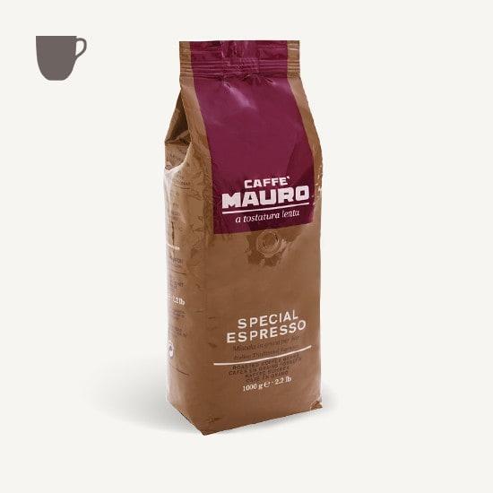 CAFFÈ MAURO Special Espresso 6x 1 KG Bohnen im Beutel