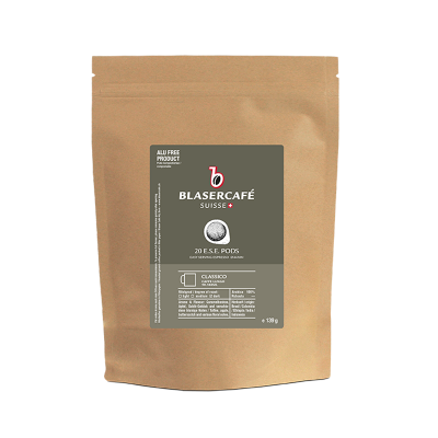 Blasercafé Classico 6x 20 ESE-Pads je 6,95 g gemahlen