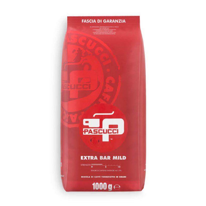 PASCUCCI Extra Bar Mild 8 X 1 KG Bohnen im Beutel