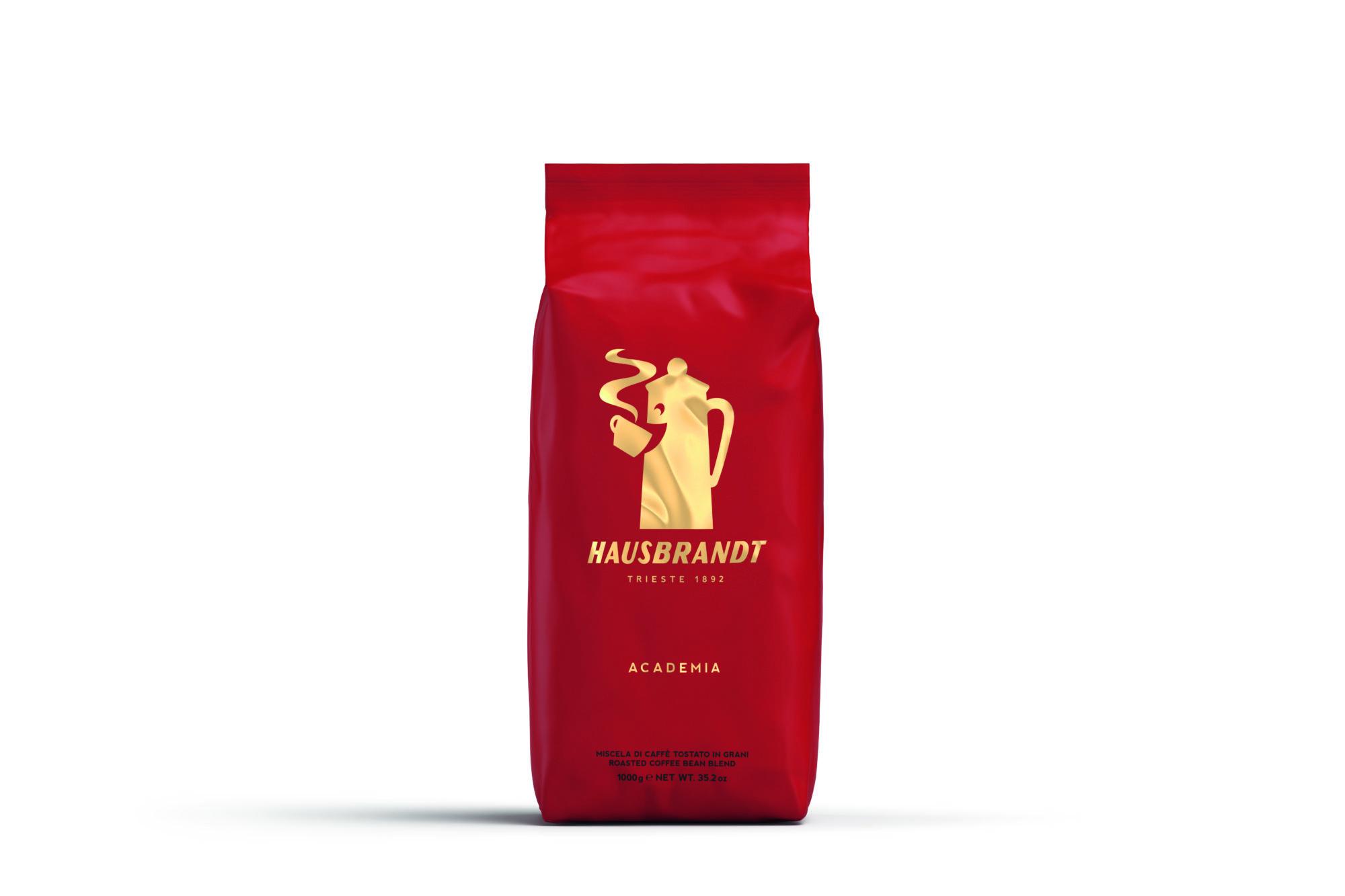HAUSBRANDT Caffé Academia 6 X 1 KG Bohnen im Beutel