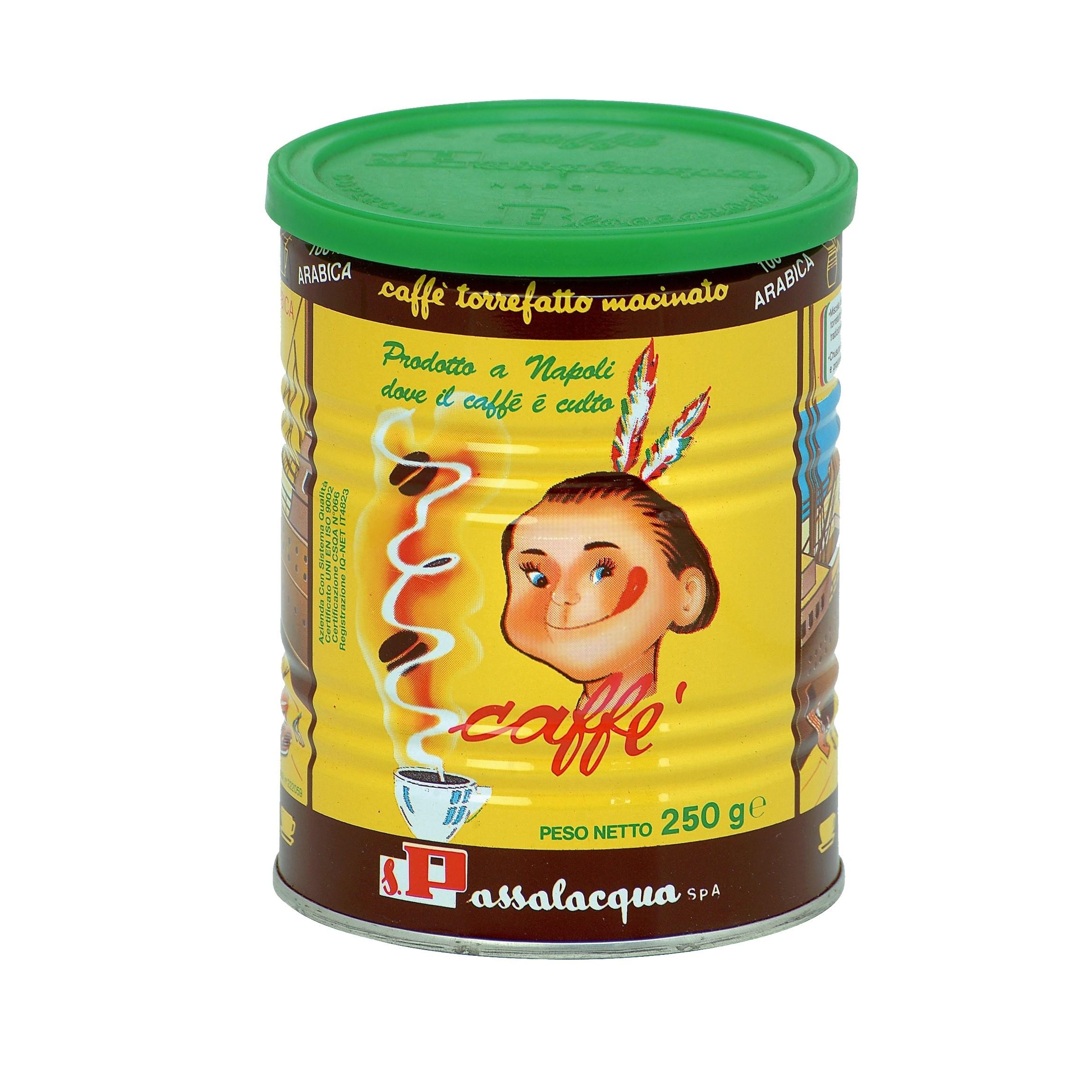 PASSALACQUA Mexico 12x 250 g gemahlen in Dosen