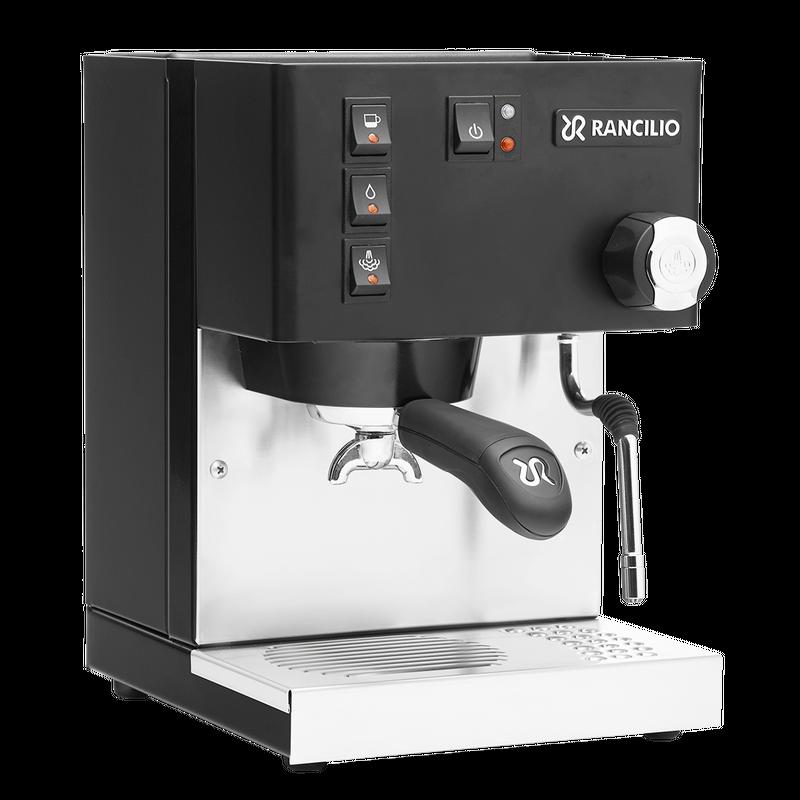 Rancilio Silvia Eco Schwarz matt Espressomaschine