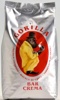 GORILLA Espresso Bar Crema 12 X 1 KG Bohnen im Beutel