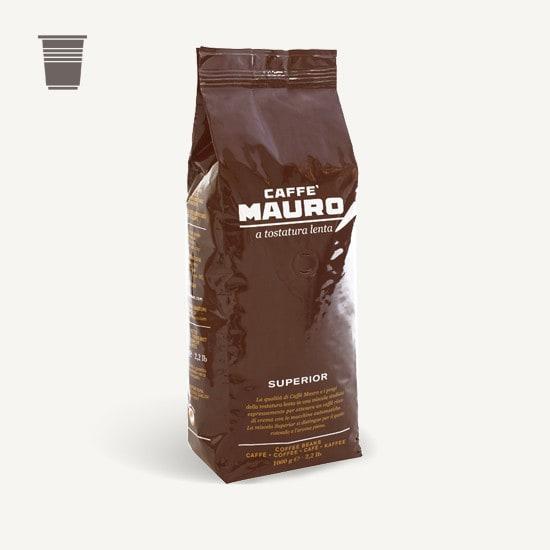 CAFFÈ MAURO Superior 6x 1 KG Bohnen im Beutel